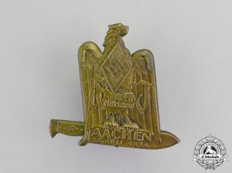 Germany. A 1934 HJ Region Mittelrhein-Aachen Meeting Badge