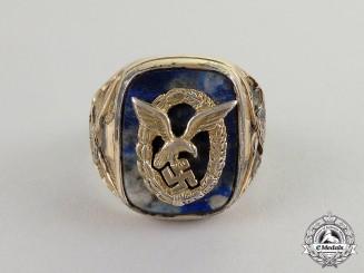 Germany. A Fine Luftwaffe Legion Condor Silver Ring