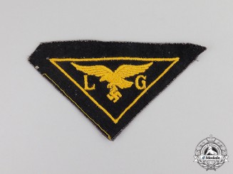 Germany. A Luftwaffe Civilian Aid Sleeve Insignia