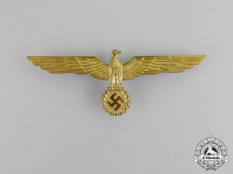 Germany. A Kriegsmarine Summer Tunic Breast Eagle