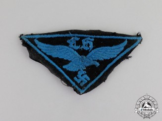 Germany. A Luftwaffe Flak Helper Insignia; Uniform Removed