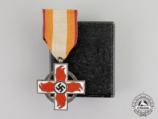 Germany. A Fire Service Decoration; Second Class with Case