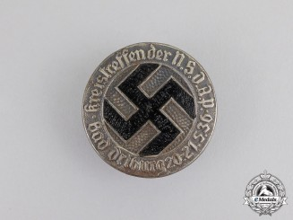 Germany. A 1936 NSDAP Bad-Driburg District Council Meeting Badge