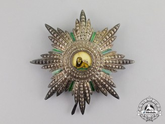 Iran. An Order of the Lion and Sun, 1st Class Grand Cross Star, Civil Division, c.1900