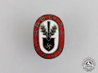 "Germany. A German RAD ""Arbeitsdank/Labour Appreciation"" Badge"
