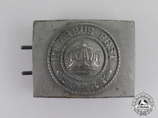 Bavaria. An Imperial Bavarian EM/NCO's Belt Buckle, c.1915