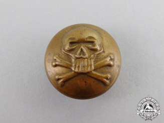 Prussia. A Death's Head Hussars Tunic Button, c.1914