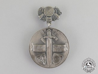 Germany. A 1936 Kyffhäuser League 8th Reutlingen Marksmanship Medal