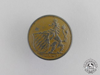 Bavaria. A First War Imperial Bavarian Uniform Button