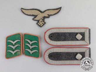 Germany. A Complete Set of Luftwaffe Ground Division Insignia