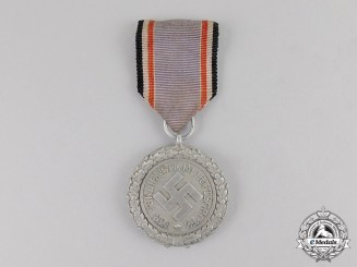 "Germany. An Air Raid Defence ""Luftschutz"" Medal; Second Class Light Version"