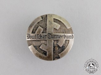 "Germany. A ""German Gymnastics Association"" Membership Badge"