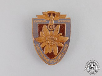 Germany. A 1939 NSFK Motorgroup Hochland Competition Badge