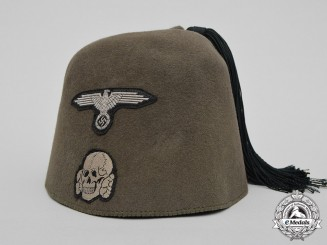 Germany. A Waffen SS Fez, Field Combat Version