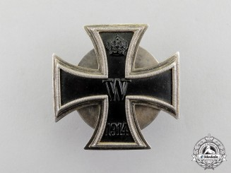 Germany. An Iron Cross 1914 1st Class, Screwback, by the German Officer's League