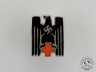 Germany. A DRK German Red Cross Miniature Membership Badge