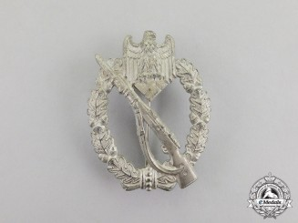 Germany. A Silver Grade Infantry Assault Badge by Julius Bauer & Co.