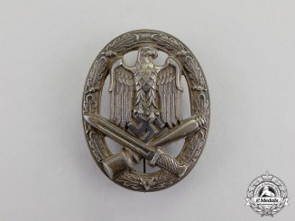 Germany. A German General Assault Badge by an Unknown Maker