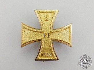 Mecklenburg-Schwerin. A 1914 Issue Military Merit Cross First Class