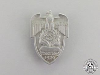 Germany. A 1936 Day of the Franks Celebration Badge by Christian Lauer