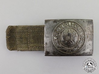 Germany. A Wehrmacht Heer Deutsches Afrikakorps (DAK) Belt Buckle
