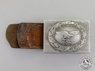Germany. A 1939 Manufacture Luftwaffe EM/NCO's Standard Issue Belt Buckle