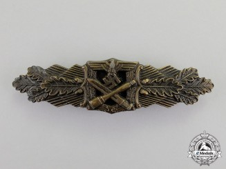 Germany. A Bronze Grade Close Combat Clasp by the Unknown 6-Dot Maker