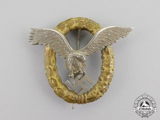 Germany, Luftwaffe. A Combined Pilot & Observer Badge, by Friedrich Linden