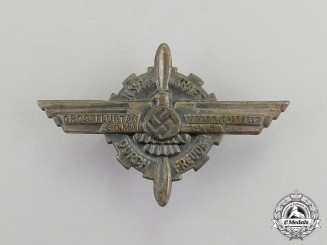 Germany. A 1935 NSFK/KDF Oberwiesenfeld Great Day of Flight Badge