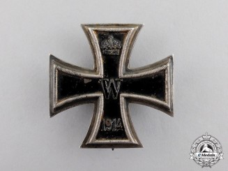 Germany. An Iron Cross 1914 First Class; Named to Dr. A. Baumann
