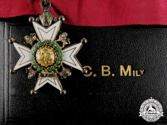 Great Britain. A Most Honourable Order of the Bath, (CB), Attributed to French General Valdant