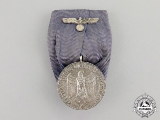 Germany. A Wehrmacht Mounted Long Service Award for 4 Years of Service