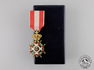 Monaco. A Superb Order of St. Charles in Gold, 1st Class Knight, c.1935