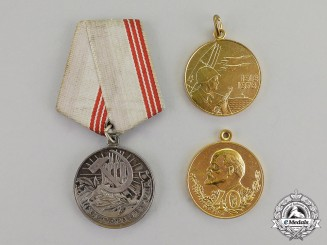 Russia, Soviet Union. A Lot of Three Awards
