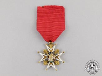 France, Louis Philippe I. A Royal & Military Order of St. Louis in Gold, Knight, c.1835