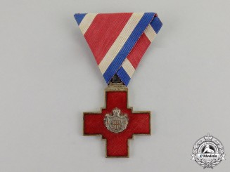 Serbia, Kingdom. A Decoration of the Serbian Red Cross, c.1880
