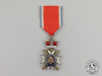 Serbia, Kingdom. An Order of the Cross of Takovo; 4th Class Knight, by Jacob Leser