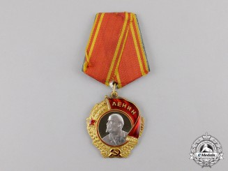 Russia, Soviet Union.  An Order of Lenin, Type VI, Variation 1