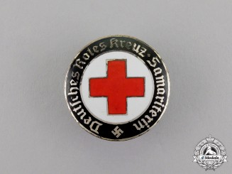 Germany. A DRK (German Red Cross) Sister's Nurse Badge