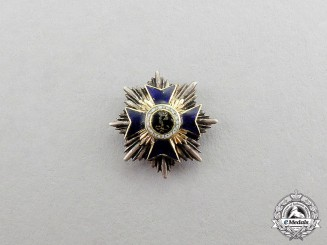 Bavaria. An Order of Military Merit Breast Star to the Grand Cross Miniature Chain Badge