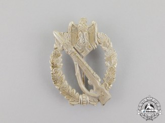 Germany. A Silver Grade Infantry Assault Badge by Hymmen & Co.