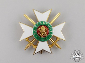 Bulgaria, Kingdom. A Military Order of Bravery, 3rd Class, Grade One,