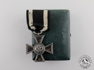 Prussia. An 1864-1918 Issue Military Merit Cross by A. Werner & Söhne. c. 1870