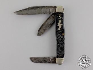 Germany. A Third Reich Period DJ Pocket Knife