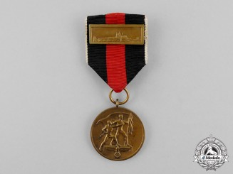 Germany. An Entry into the Sudetenland Medal with Clasp