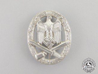 Germany. A Mint Third Reich Period General Assault Badge