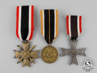 Germany. Three War Merit Medals and Crosses