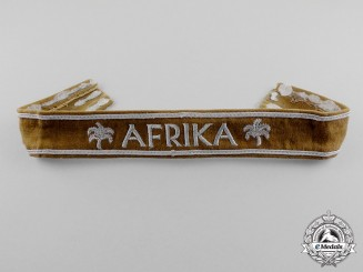 Gemany. An African Campaign Cuff Title; Uniform Removed