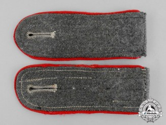 Germany. A Pair of Wehrmacht Artillery Enlisted Man's Shoulder Boards