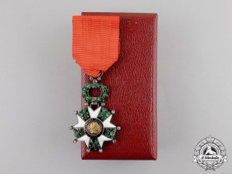 France, Third Republic. A Legion D'Honneur with Diamonds, Knight, c.1880